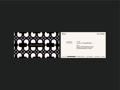Analisa Fernández branding