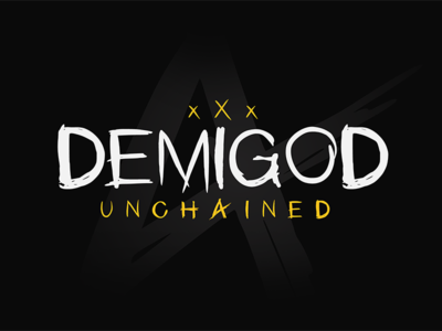 Demigod Unchained - Font custom