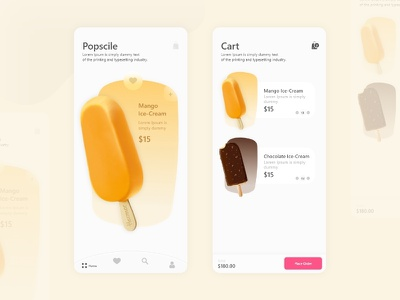 Cart Design cart ui cart online shopping grocery app ecommerce app ux design agency uxui uxdesign