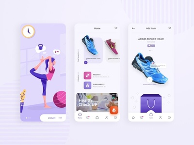 E Commerce App Ui prototype animation mobile app design ui design uxdesign online store commerce ecommerce design ecommerce app