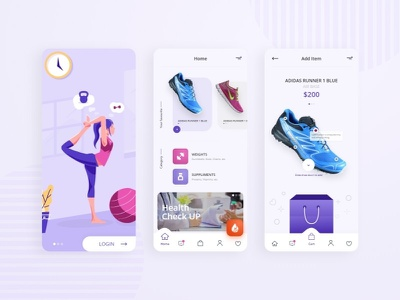 E Commerce App Ui prototype animation mobile app design ui design uxdesign online store commerce ecommerce design ecommerce app