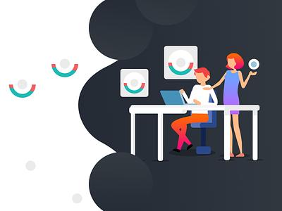 Workroom graphic  design ios android typography logo vector animation 2d art ui design design app web design design agency visual design illustration design