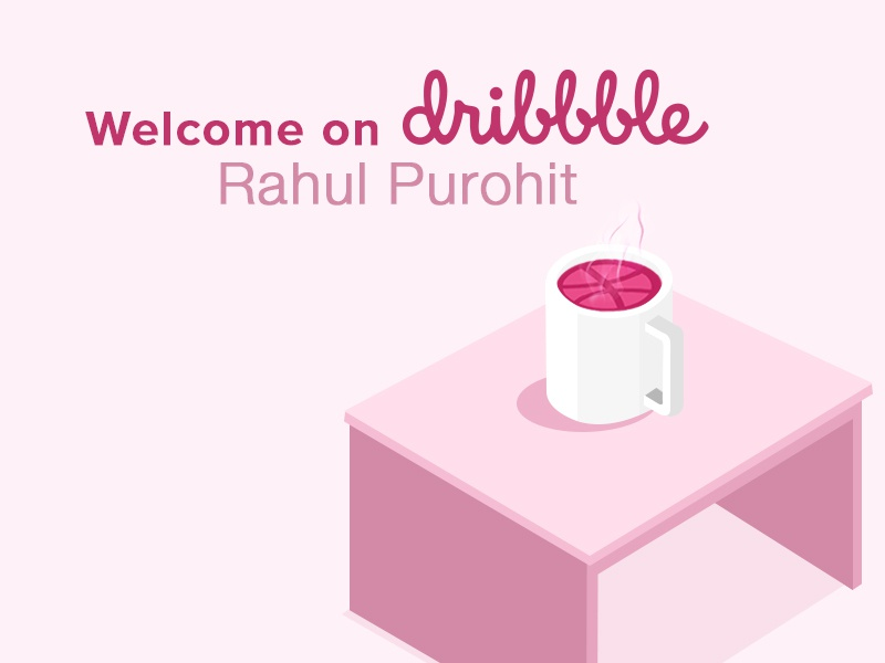 Welcome on Dribbble by Ravindra Prajapati on Dribbble