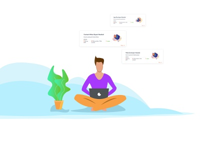 Flat Infographics for leadsin.io web design agency character design landing page ui web design app design vector branding design 2d art graphic  design illustration
