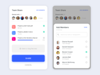 Team Document Sharing teams file sharing file upload upload document ios android material ux ui dailyuichallenge dailyui daily ui adobe xd adobexd design