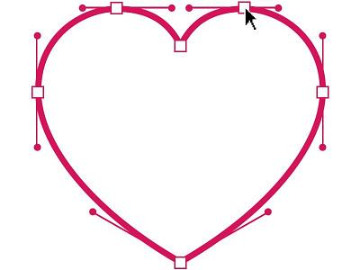 Valentine's Day valentines day heart bezier