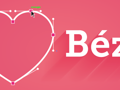 Valentine's Day #2 valentines day heart bezier