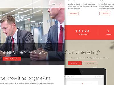 Landing Page ui ux clean white landing landing page layout web design responsive