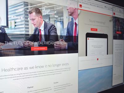 Coding up the site ui ux clean responsive web design landing page landing html5 css3