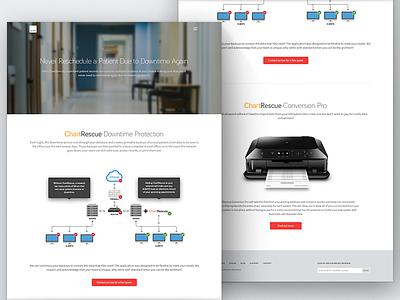 Product Landing Page web design website landing page design marketing product page