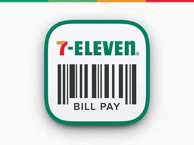 7-Eleven App Icon bill pay 7-eleven 7-11 app icon app ios