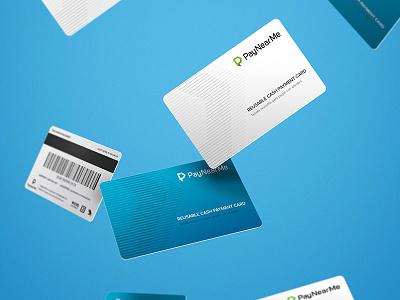 PayNearMe Cash Replacement Card card payment cash paynearme