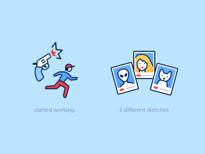 Icons  icons illustrations funny