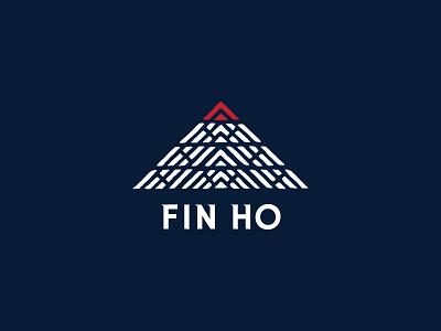 Fin Ho logo identity organic tea branding logo logotype