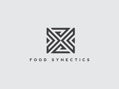 Food Synectics logo branding graphic design logotype logo