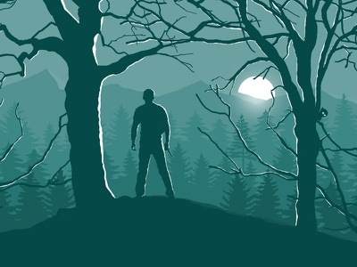 Lost in the woods brush tool brush photoshop