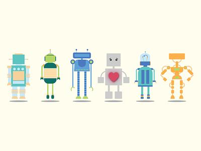 Song Lyrics Illustration: 2 heart robots tin man miranda lambert song lyrics illustrator illustration flat design
