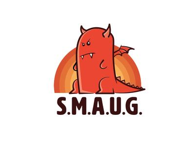 S.M.A.U.G. identity identity logo dragon smaug