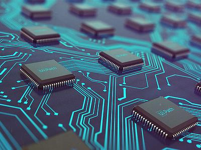 Wallpaper logic board processor wallpaper