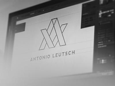 Logo Creation for myself logo creation illustrator line simple minimalist adobe ci
