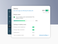 Battery Settings