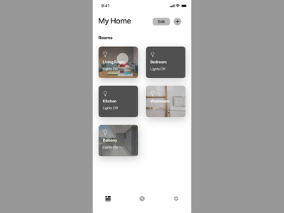 Smart Home Experience adjustment xd iot smarthome interaction ui design