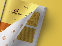Brand Identity for Crumbs n' Sips