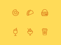 Icons for Crumbs n' Sips