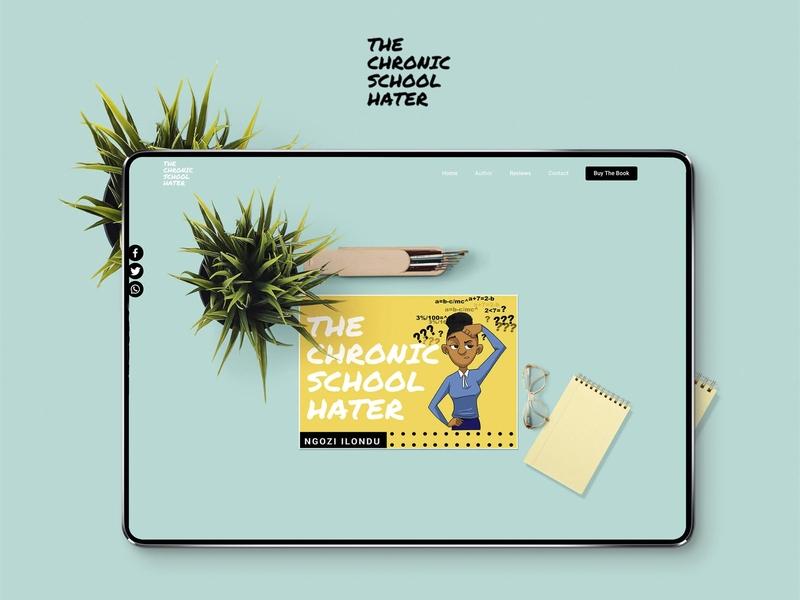 Chronic School Hater reformation education school nigerian ux nigeria dribbble uiux ui design website