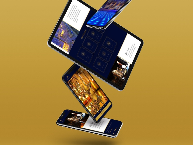 Anthony Lewis Design minimal wordpress website design web design web nigeria ux nigerian website ui design uiux