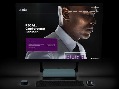 Website for Recall for Men