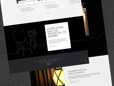 Interior & Architecture Website Design