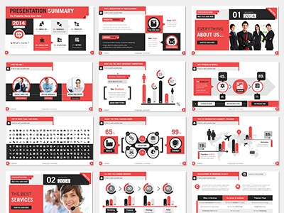 powerpoint presentation flat design by franceschi rene dribbble
