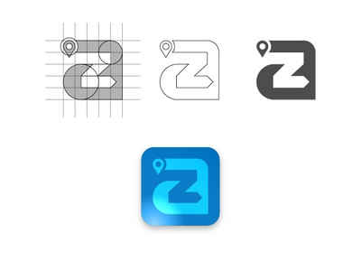 AtoZ logo concept, personal project
