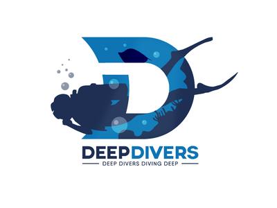Deep Divers Logo Design...!