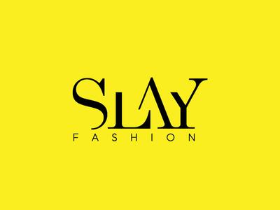Slay Fashion logo design