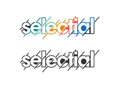 Selectial logo design.