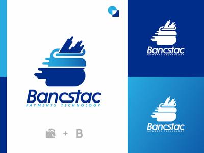 Logo design for Bancstac Payments Technology.