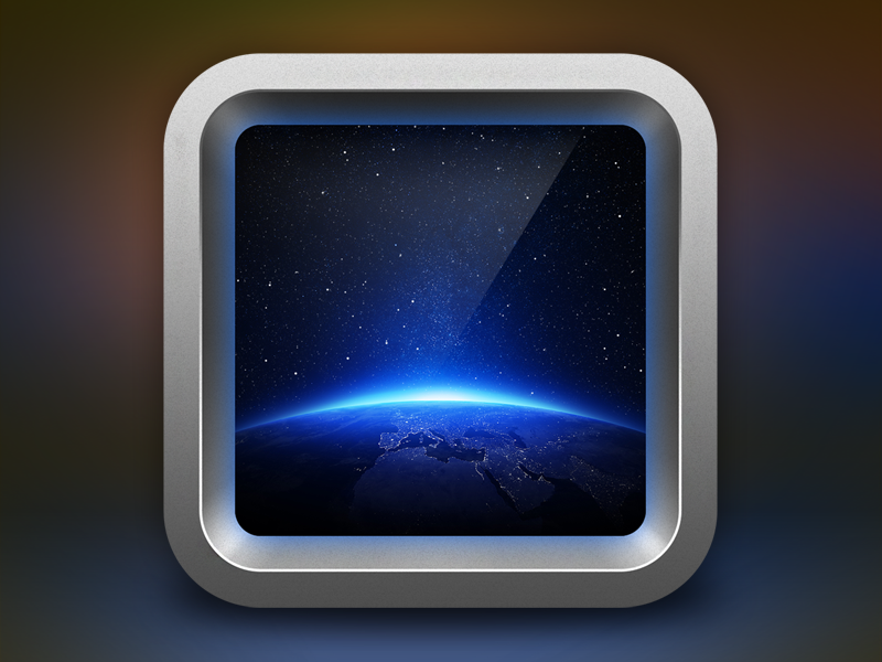 Space Icon iphone icon apple ios