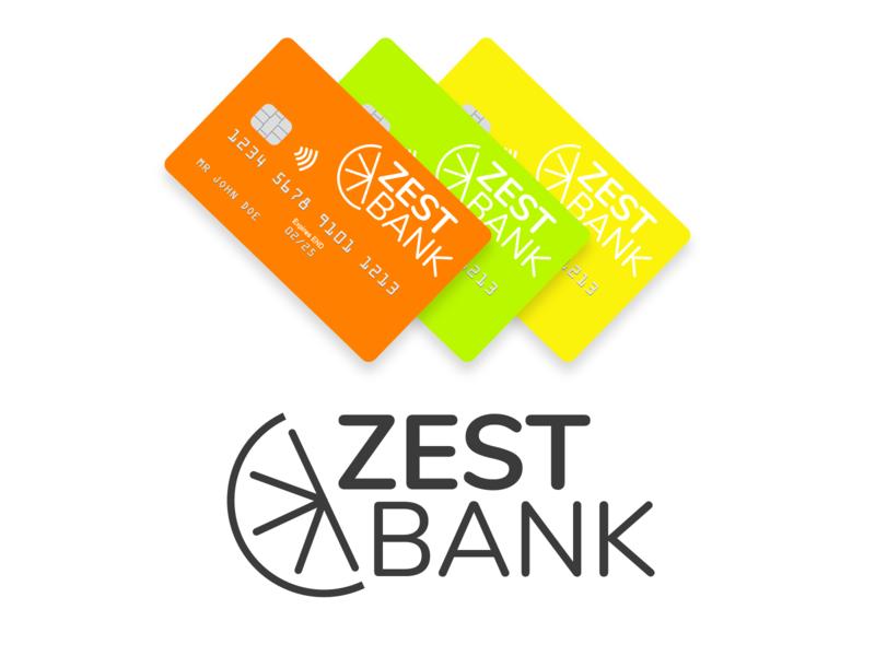 Zest Bank Branding Concept logo branding adobexd