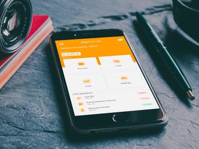 Zest Bank - Mobile App Concept dashboard mobile app bank app bank mobile ui mobile ui adobexd