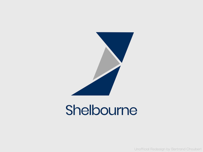 Shelbourne Development Logo Redesign - Light Preview adobexd branding logo design vector redesign