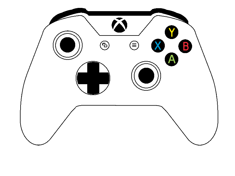 Xbox One Controller By Bertrand Choubert