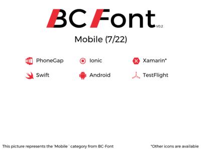 BC-Font : Mobile
