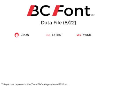 BC-Font : Data file