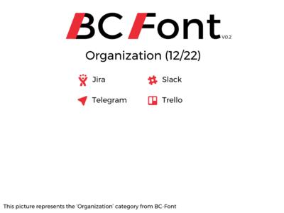 BC-Font : Organization