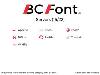 BC-Font : Servers