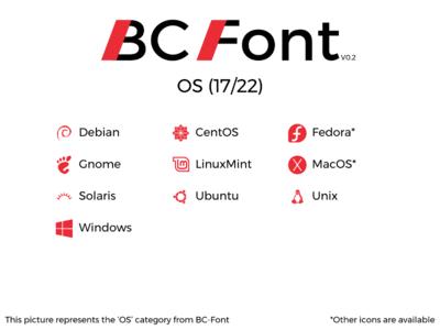 BC-Font : OS
