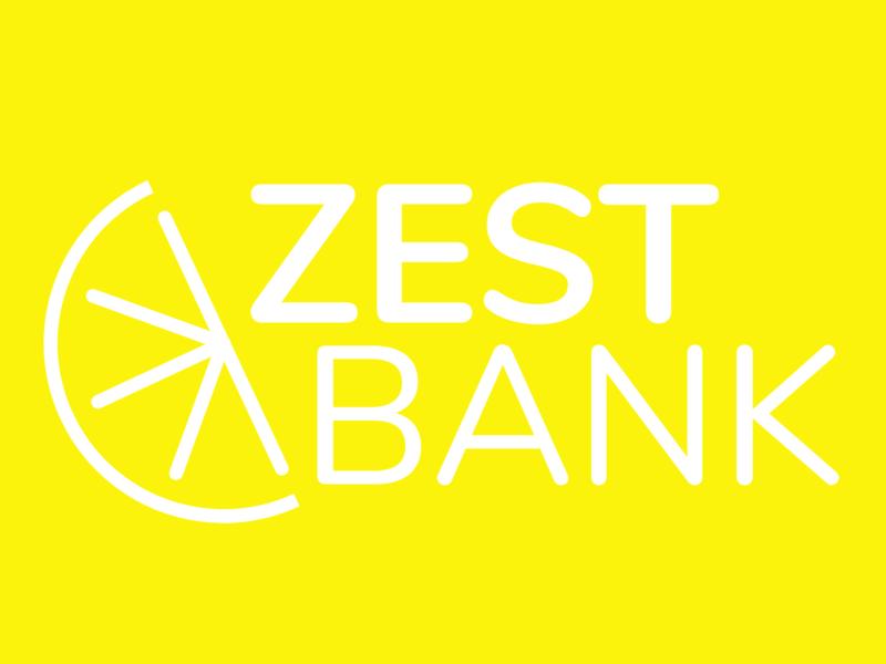 Zest Bank Branding Concept adobexd logo branding