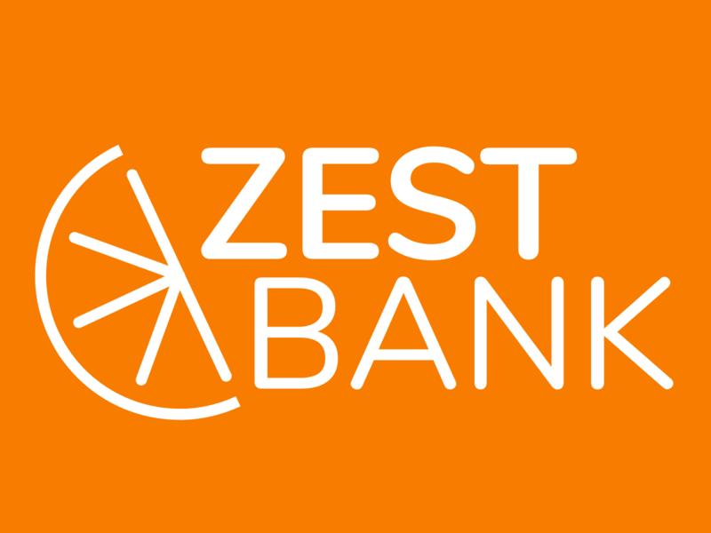 Zest Bank Branding Concept - Orange logo branding adobexd